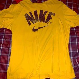 Nike Xl yellow shirt